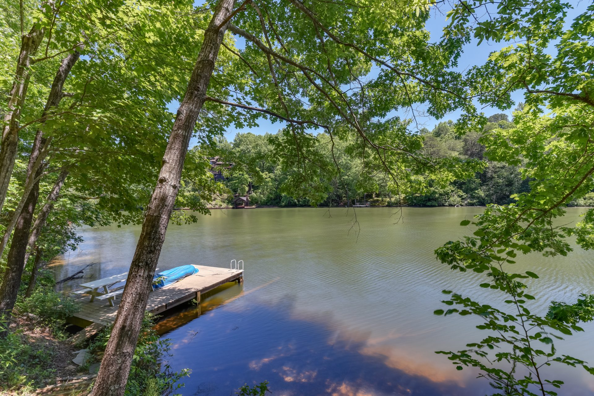Under Contract: Lake Lanier, updated log home on the water: 512 Caledonia Loop, Landrum SC