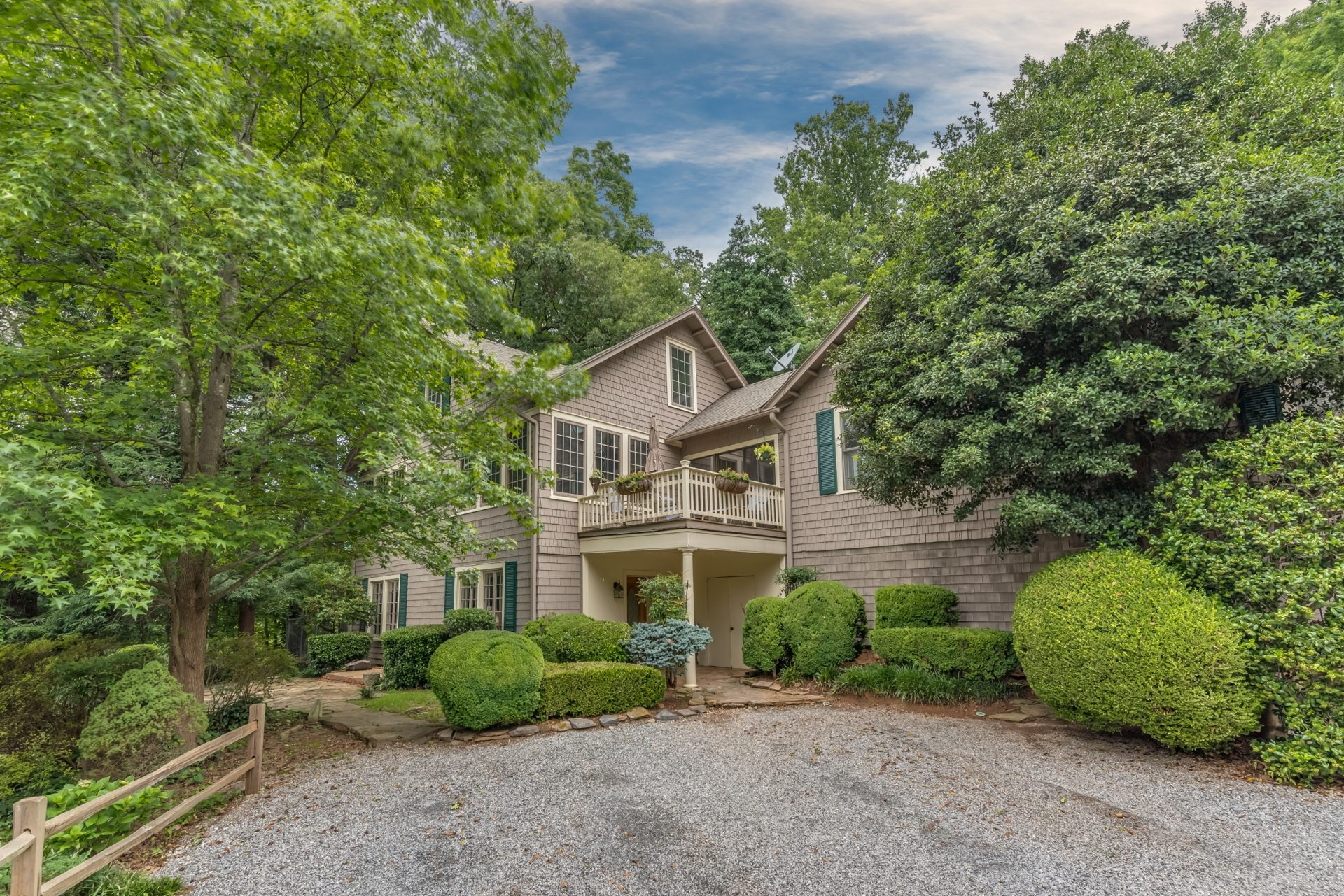 "SOLD – ""The Wilcox Place"": Historic home with guest cottage, 574 Howard Gap Road, Tryon"